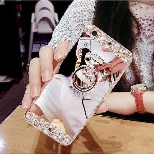 クリスタルスマホケース iPhone 12 11 Pro Max 7 8 6 Pls XS XR Xs Max