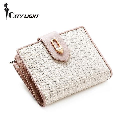 ファッションジッパーHaspパネルスモール財布