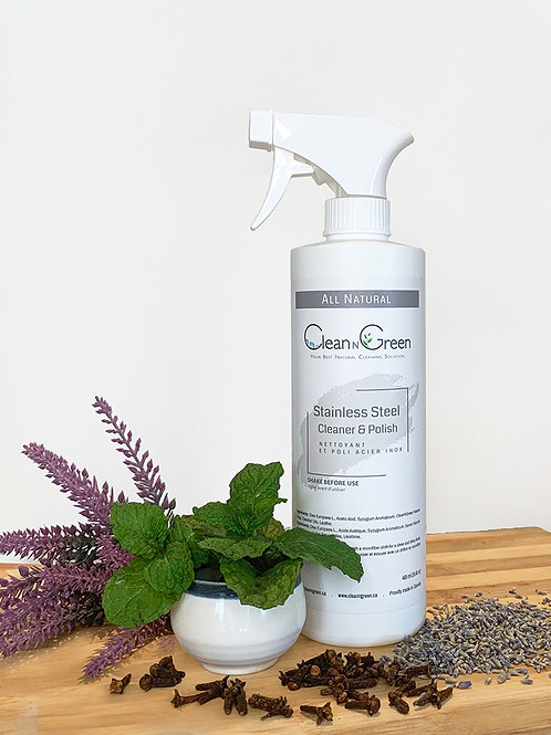 Stainless Steel Cleaner & Polish - All NATURAL