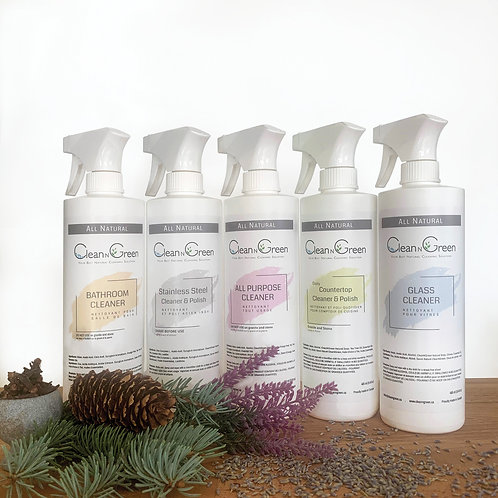 Cleaning Bundle - All NATURAL
