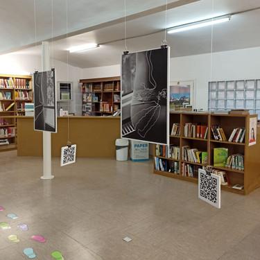 Exposició fotogràfica interactiva - Mireia Sans