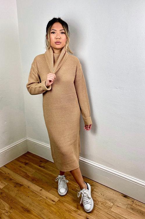 Luna Long Knitted Dress