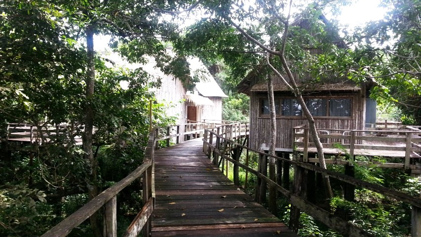passarelas e cabanas Pakaas