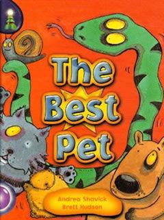 Andrea Shavick's funny children's book The Best Pet