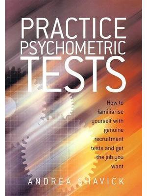 Andrea Shavick's best-selling book Practice Pychometric Tests book