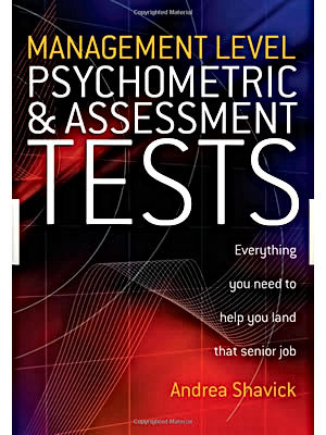 Andrea Shavick's best-selling Psychometric & Assessment Tests