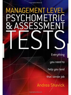 Andrea Shavick's best-selling Psychometric & Assessment Tests