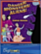 Andrea Shavick's clever interactive CD Rom story Danger! Monsters! Aliens!