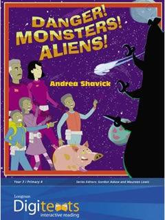 Andrea Shavick's clever interactive CD Rom story Danger! Monsters! Aliens!