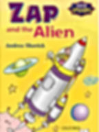 Andrea Shavick's children's book Zap and the Alien