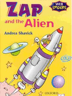 Andrea Shavick's children's book Zap and the Alien