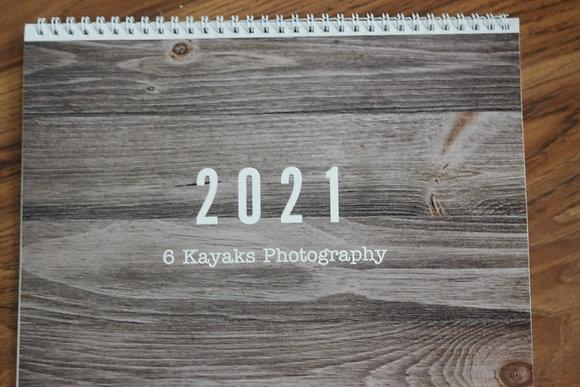 2021 8 1/2 x 11 12 month calendar