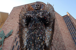 Coventry Cathedral Knife Angel