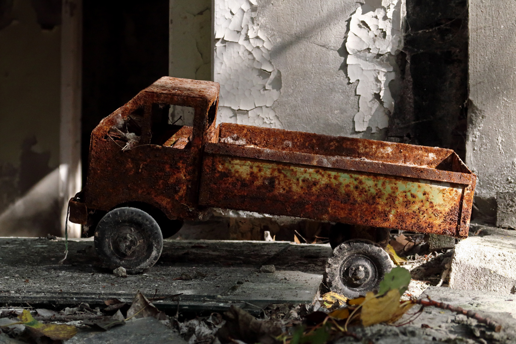 Exclusion Zone 40 - Rusty Toy Truck