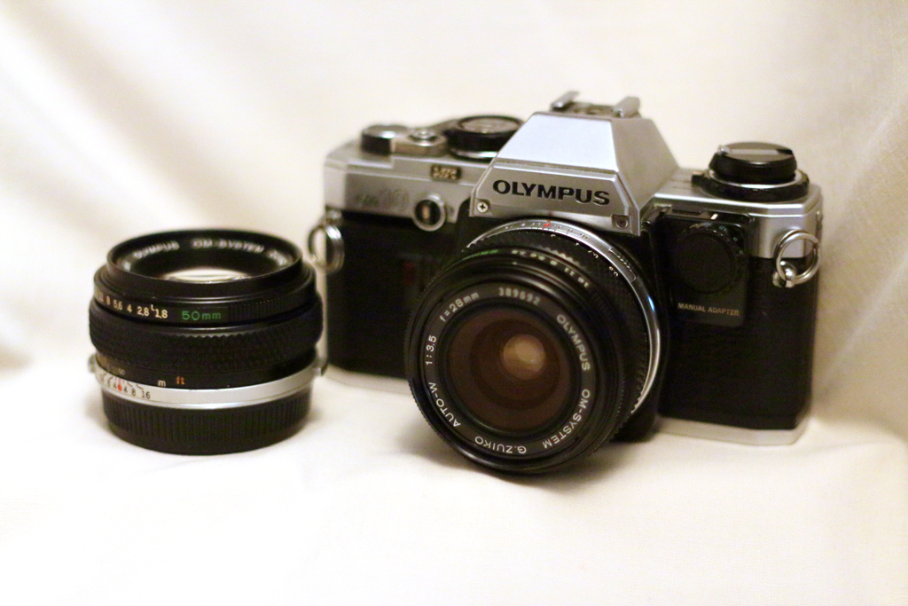 Olympus OM10 Vintage Film Camera
