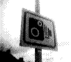 game boy camera - speed camera sign