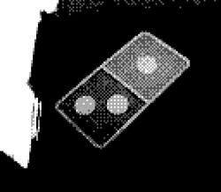 game boy camera - dominos