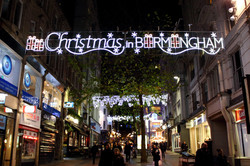 Christmas In Birmingham Illumination