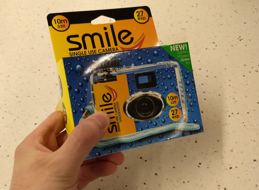 Smile Single Use Camera - a review with photos