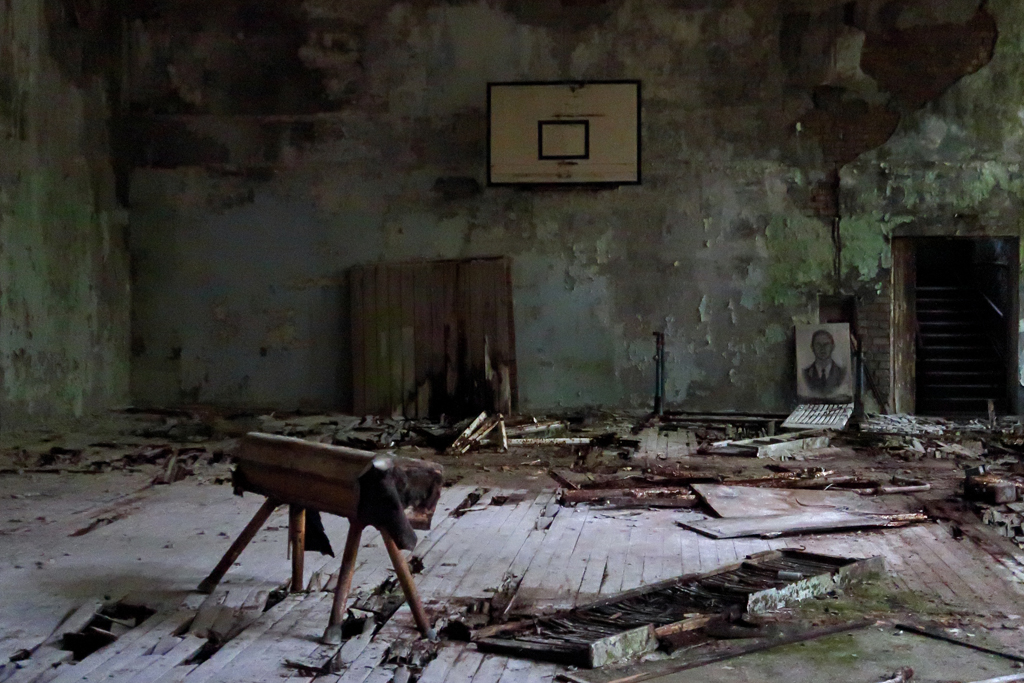 Exclusion Zone 112 - Abandoned Gym