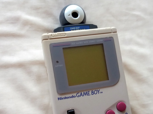 Game Boy Camera - easier to use now than ever
