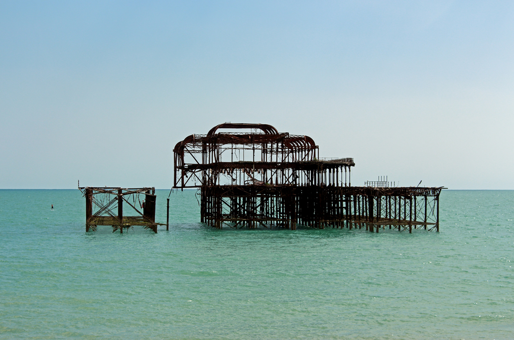 Brighton West Pier Ruins
