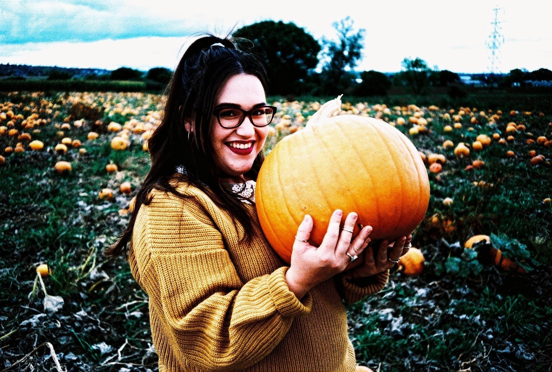 35mm Xpro Chloe Pumpkin Autumn