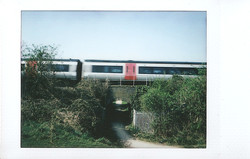 Instax Mini Passing Train Nuneaton