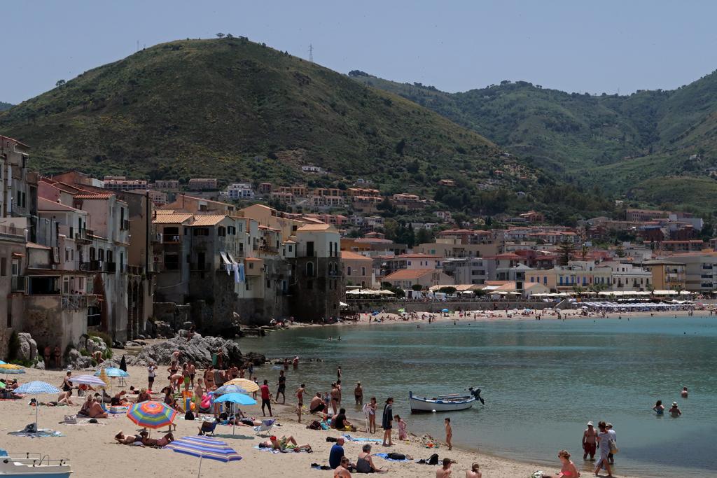 Cefalù Beach Sicily