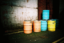 35mm Xpro Colourful Beer Kegs