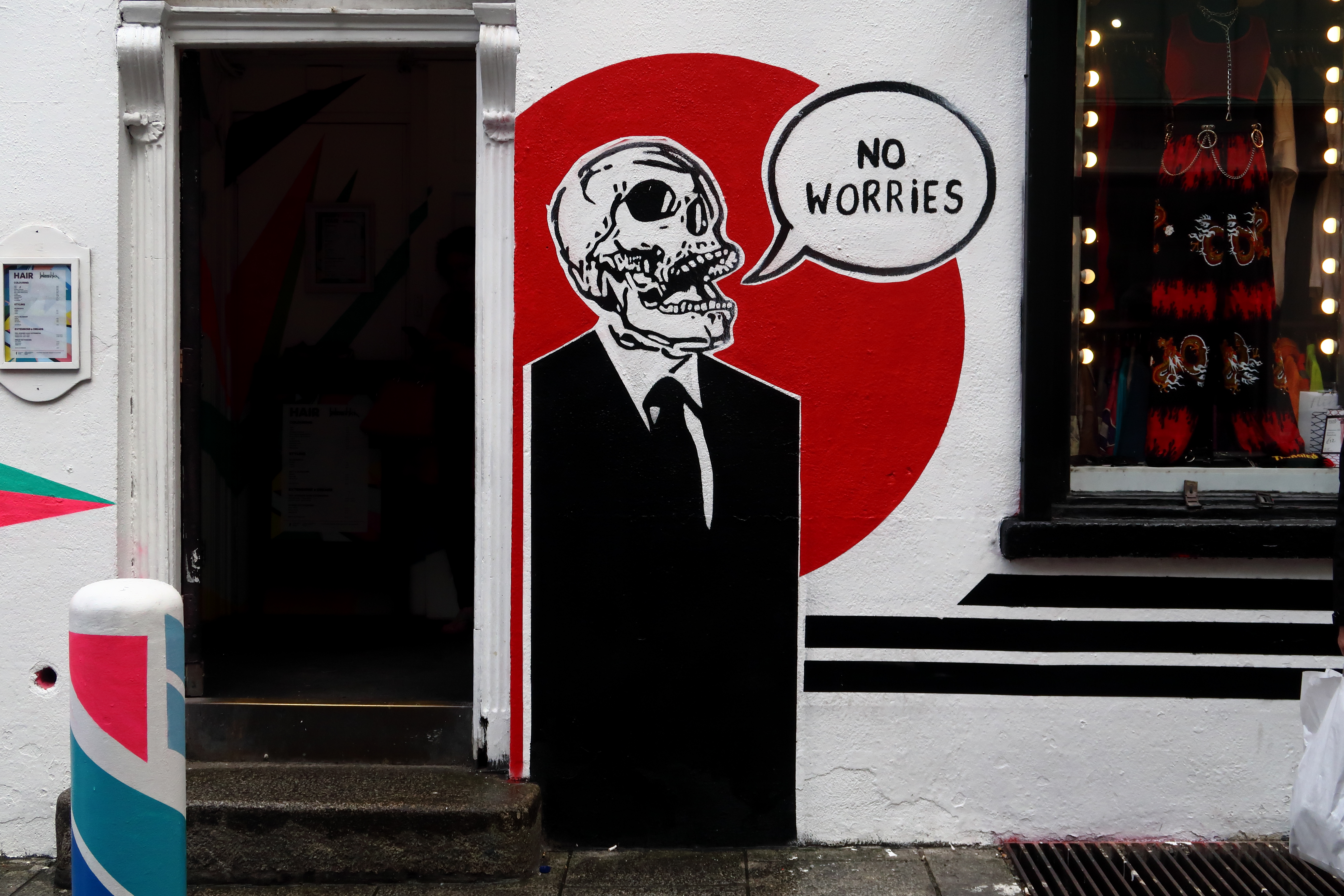 47 Dublin Street Art - No Worries