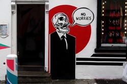 47 Dublin Street Art - No Worries