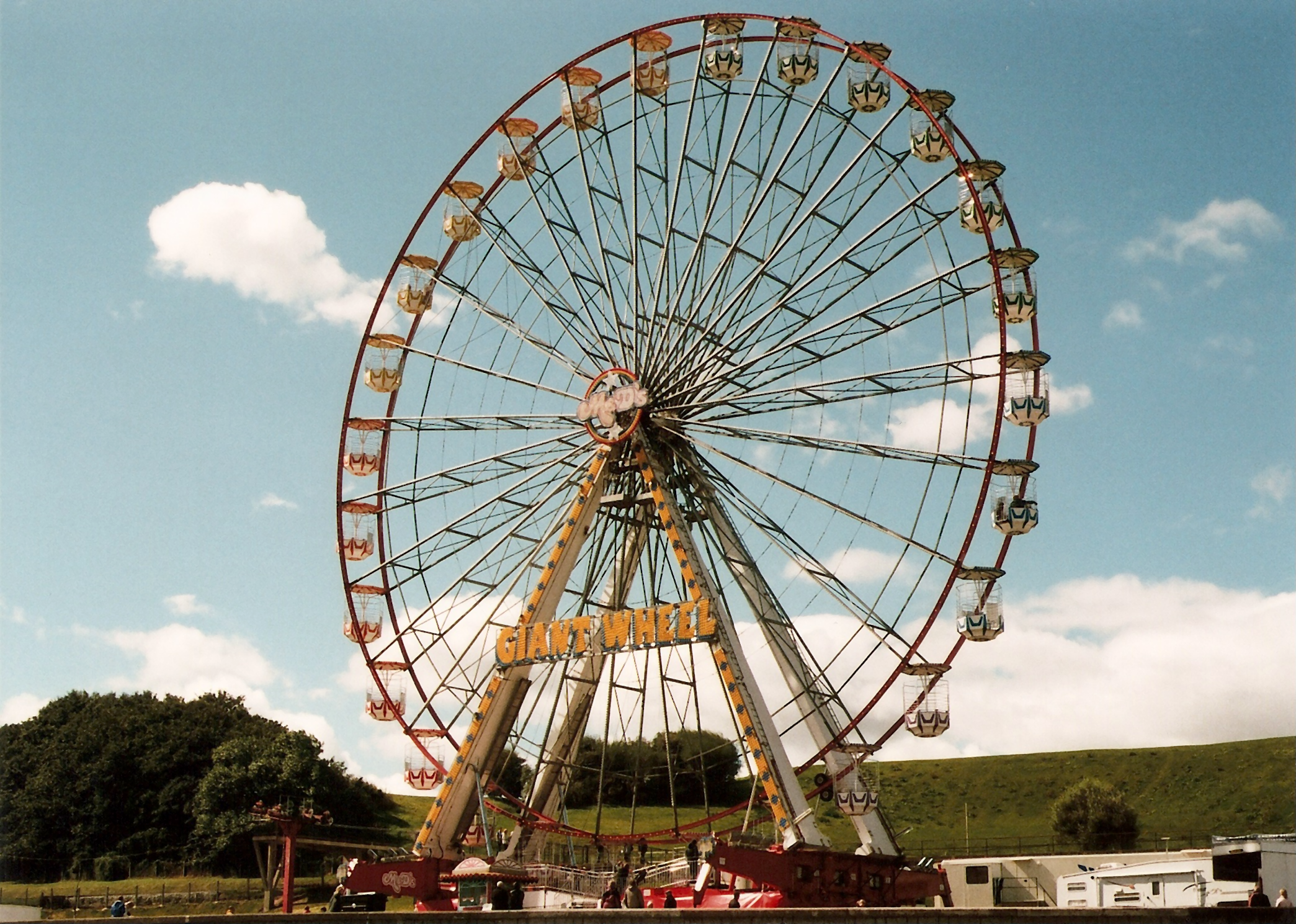 35mm Holiday Ferris Wheel