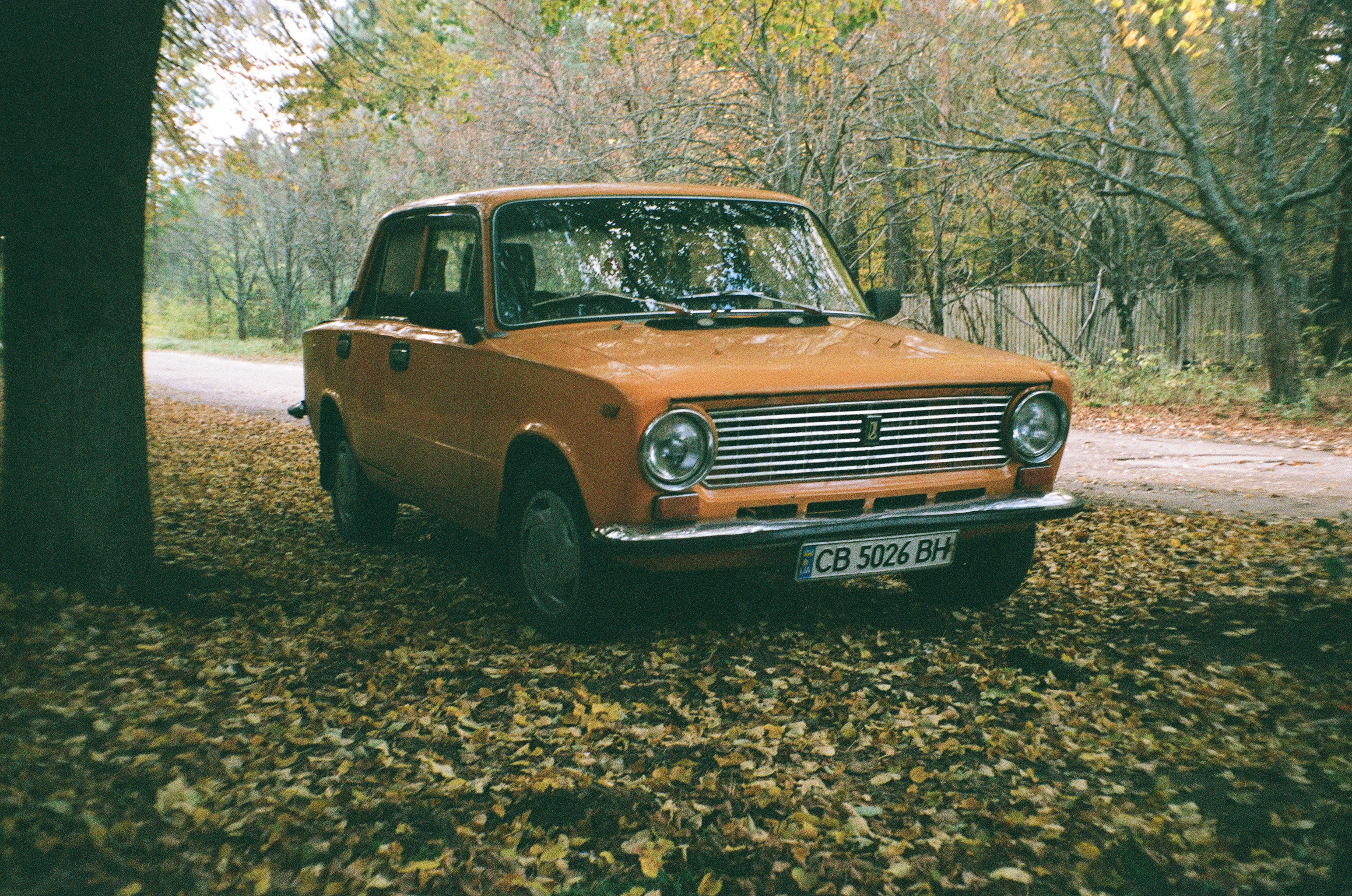 35mm lada ukranian car chernobyl