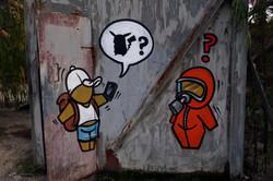 Exclusion Zone 135 - Pokemon Go Graffiti
