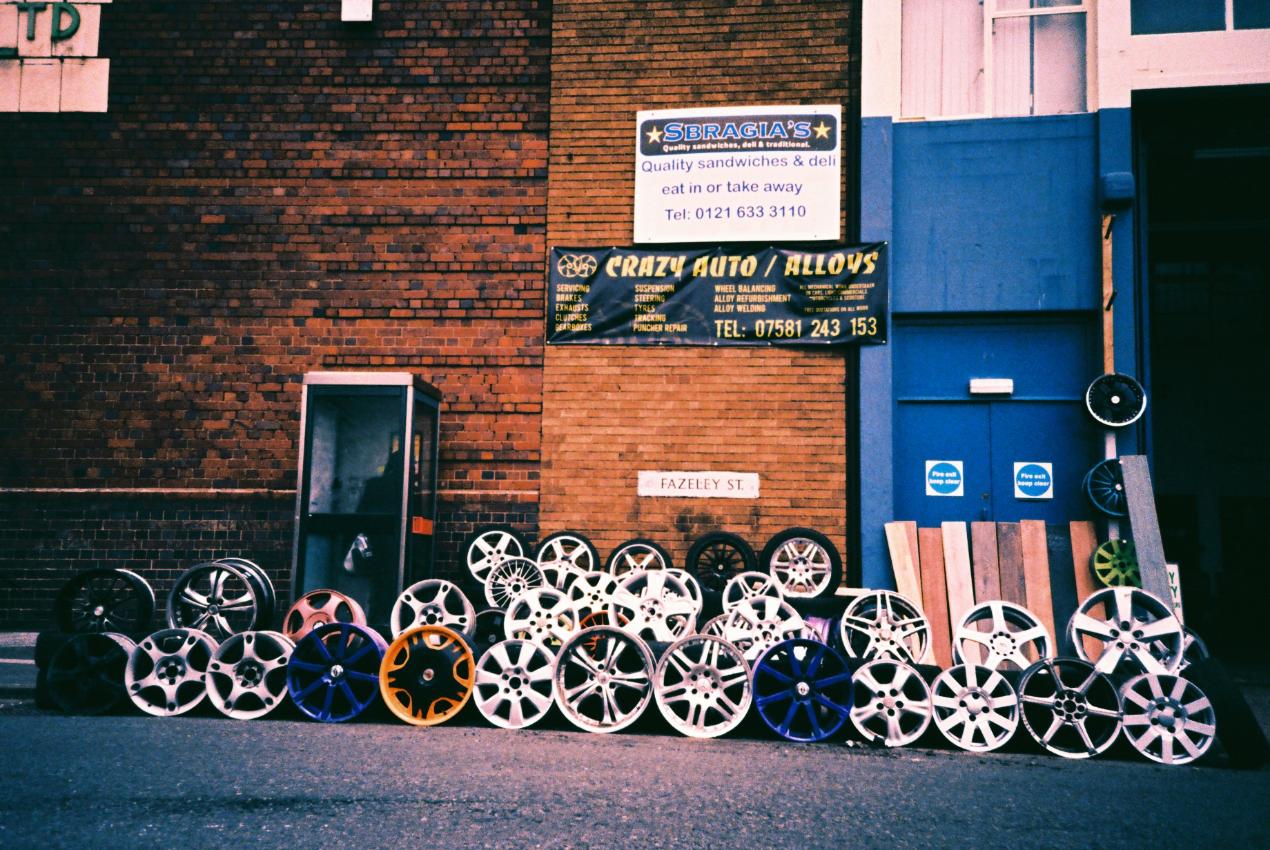 35mm Xpro Digbeth Motor Trade