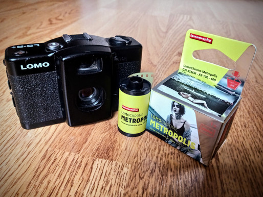 First Impressions of Lomography Lomochrome Metropolis