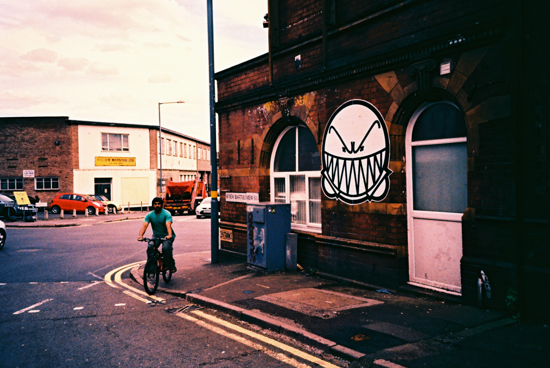 35mm Xpro Digbeth Street Graffiti