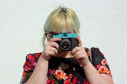 Chloe and Diana Lomo Camera