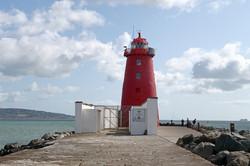 Poolbeg Lighthouse Dublin Ireland