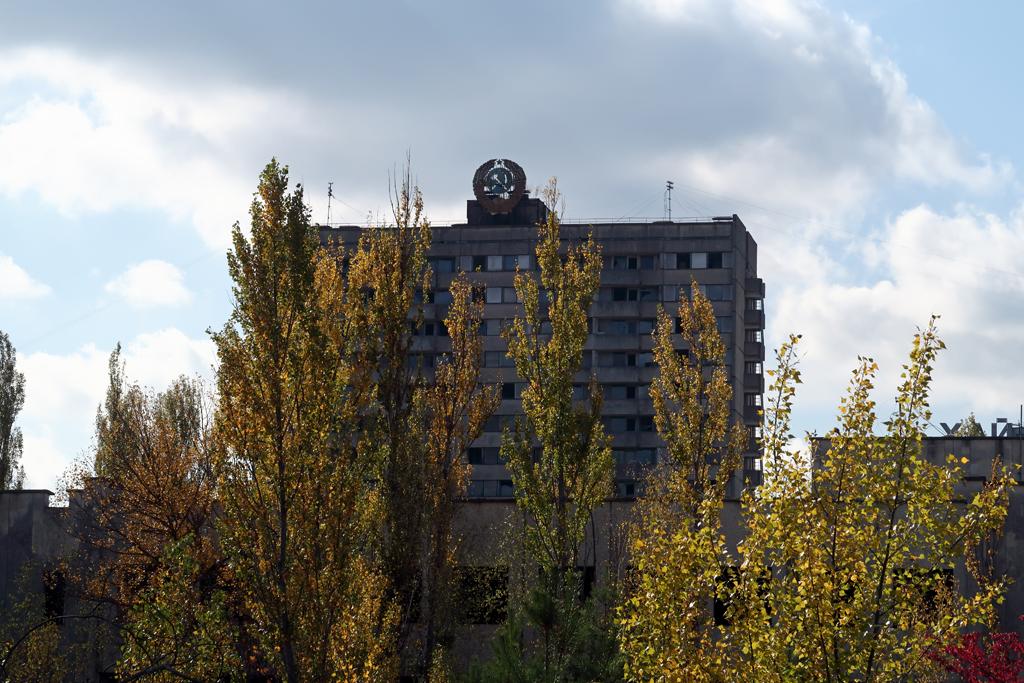 Exclusion Zone 85 - Soviet Embelm