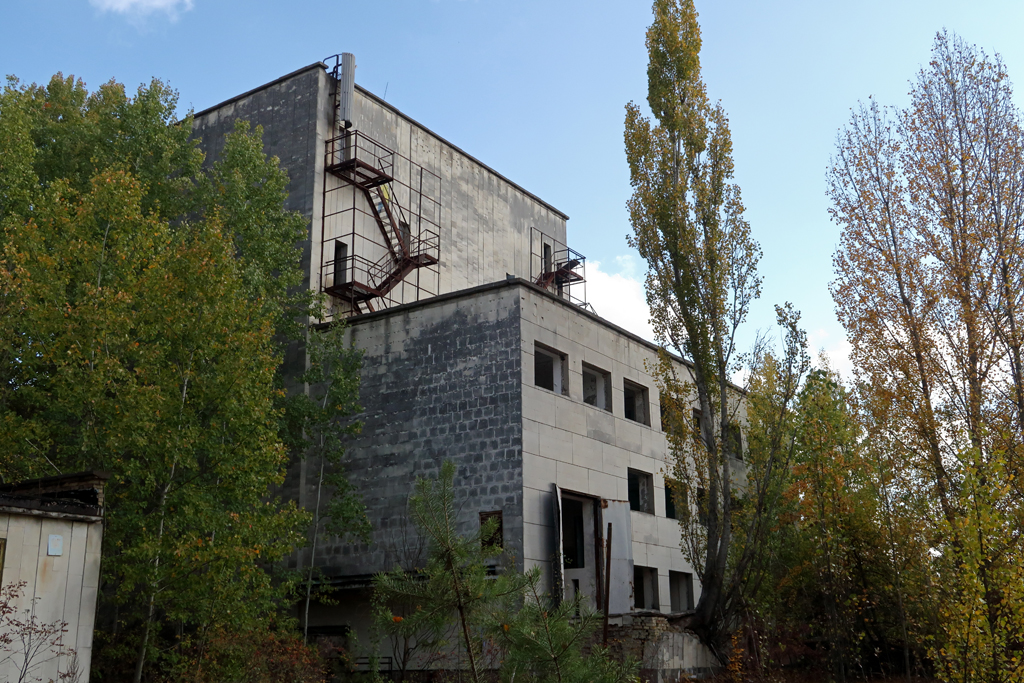 Exclusion Zone 72 - Old Factory