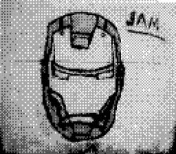 game boy camera - iron man