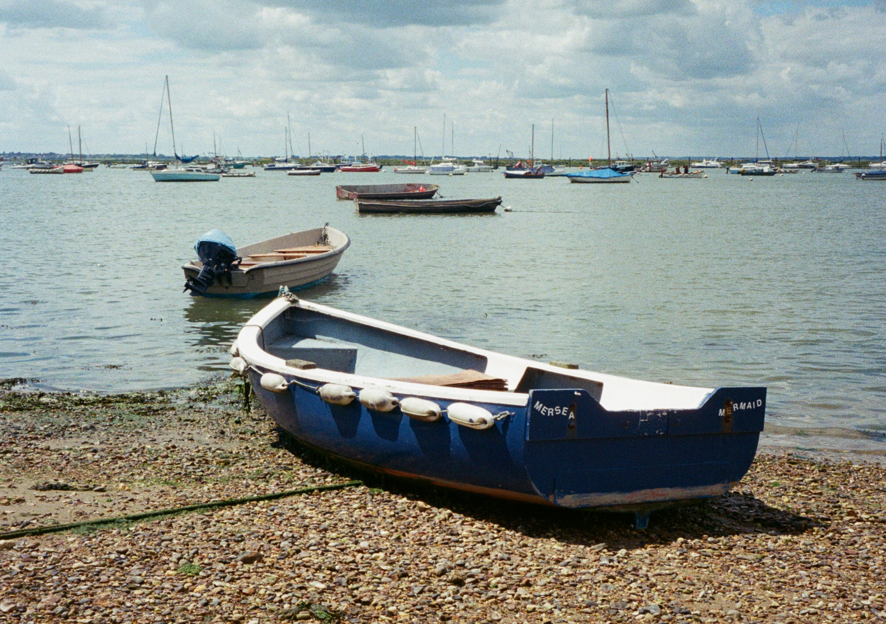 35mm West Mersea Boat