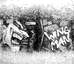 game boy camera - wing man street art