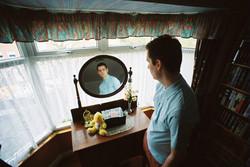 35mm Fashion Boy Mirror Reflection