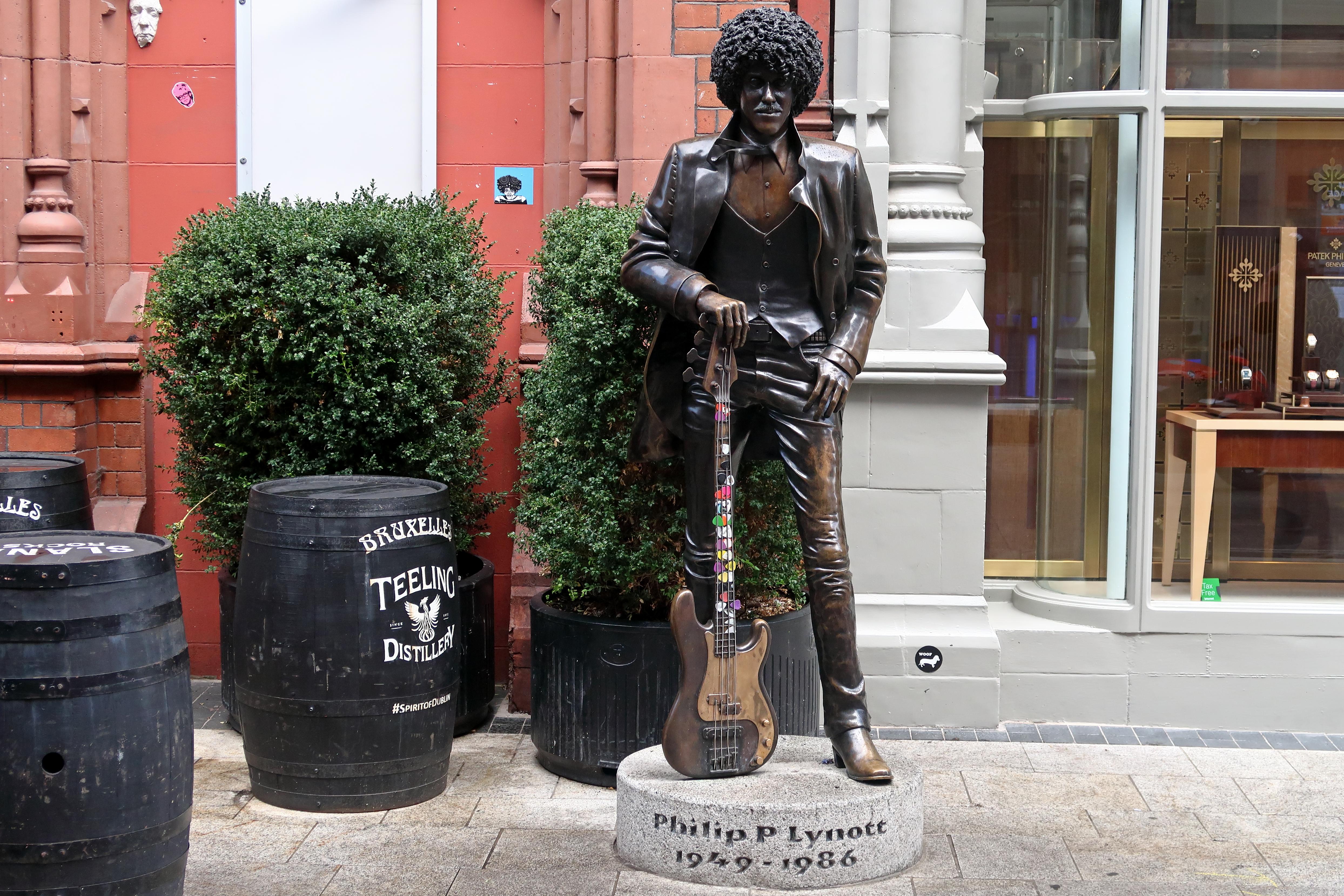 50 Phil Lynott Statue