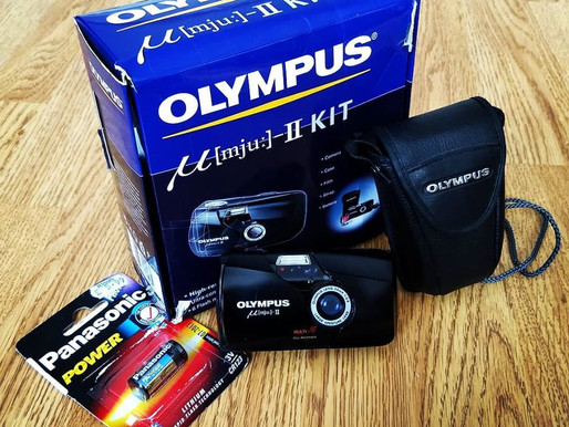 "Olympus mju-II - first experience with this ""premium compact""."