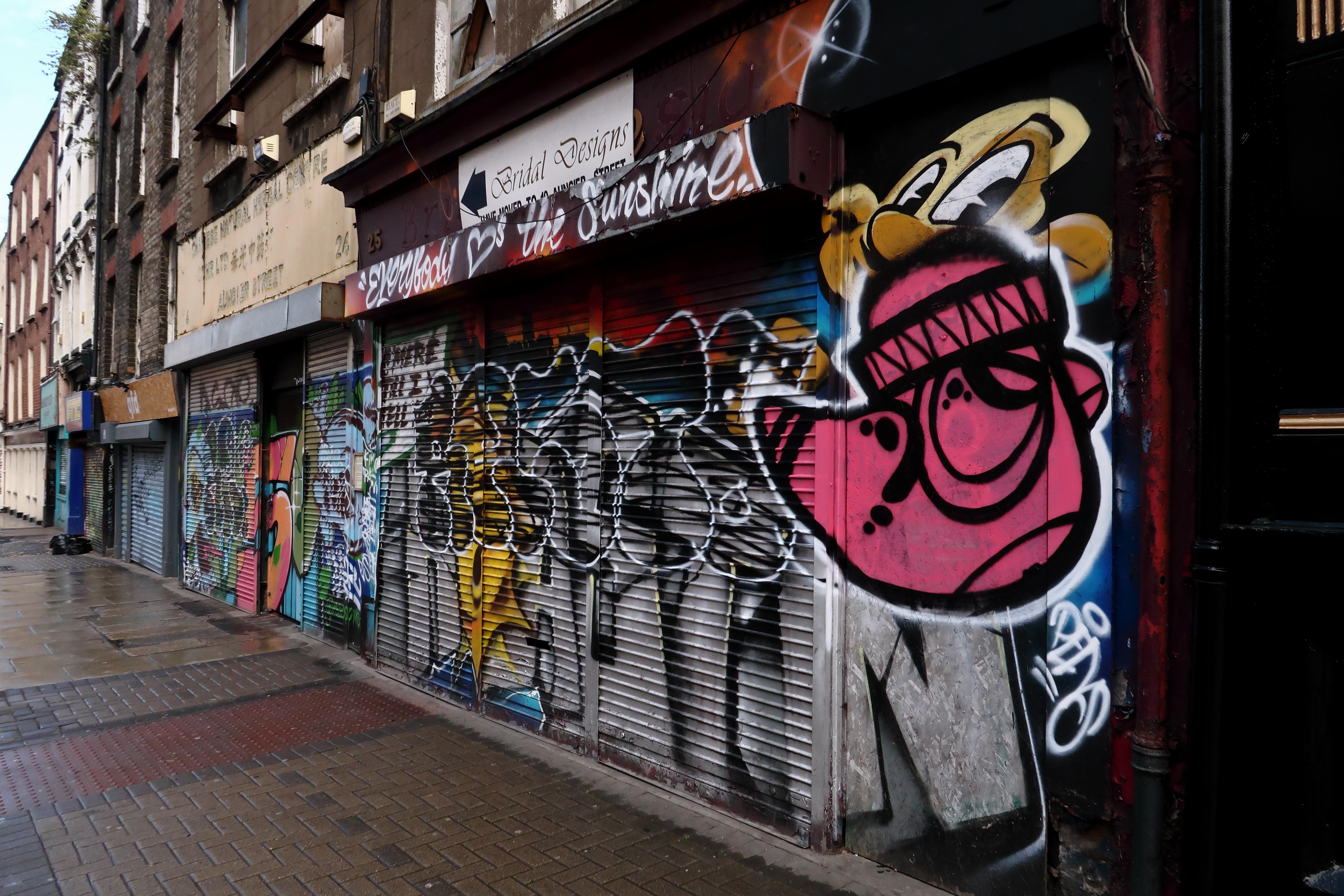 45 Dublin Street Art - Auniger Street
