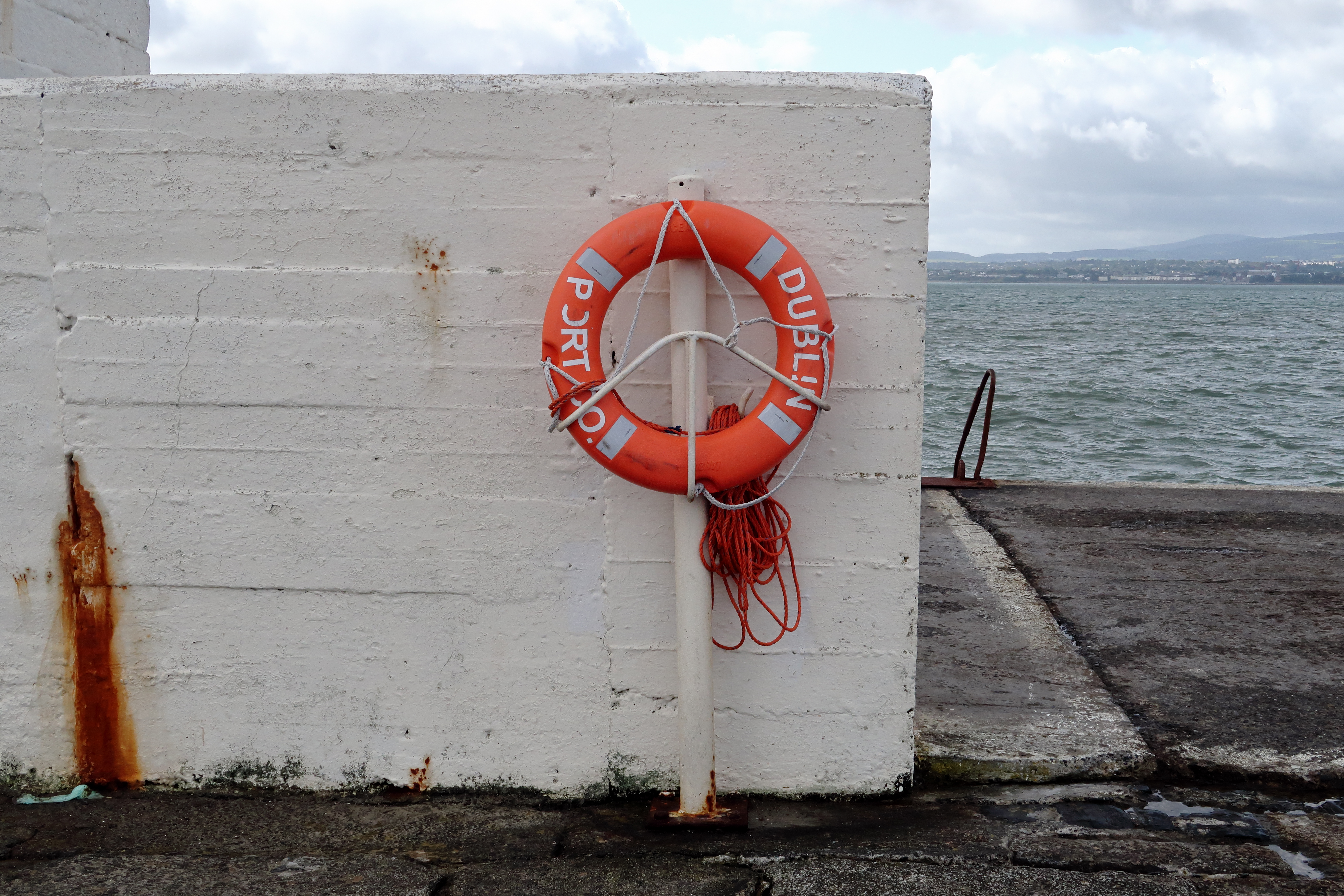 12 Dublin Port Co. Lifebuoy